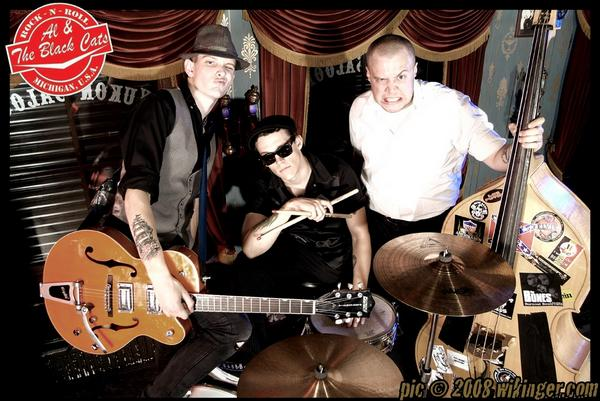Al and the black cats band foto
