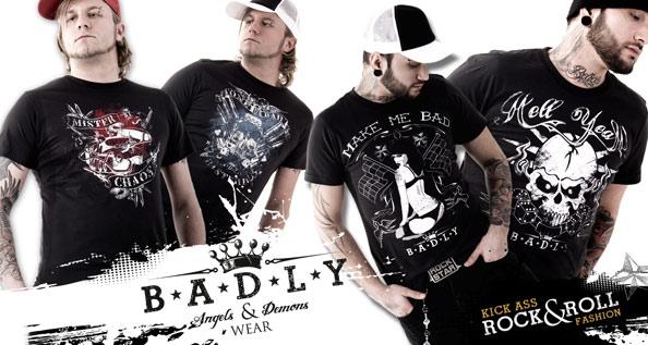 BADLY Shirts PressureMag
