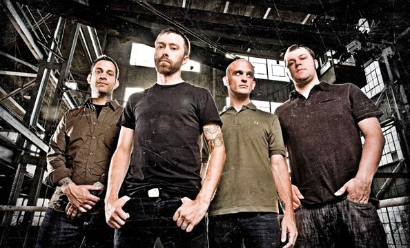 Rise Against Bandfoto