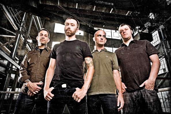 Rise Against Bandfoto