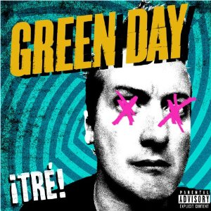 Albumcover Punkrock Band Green Day Tre