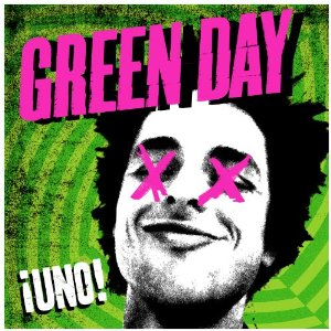 Albumcover Punkrock Band Green Day uno