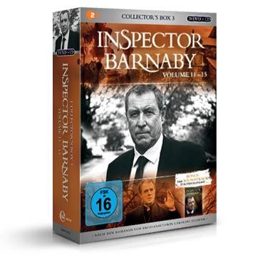 inspector barnaby DVD box volume