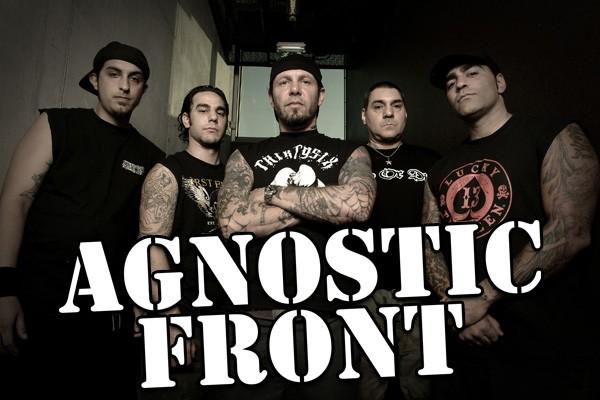 Agnostic Front band mit Roger Miret