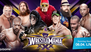 WWE Wrestlemania 30 2014 main-event