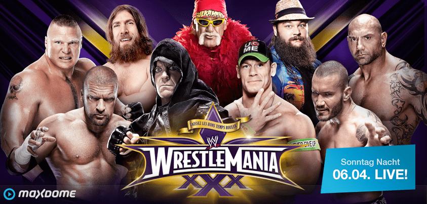 WWEWrestlemaniamain event