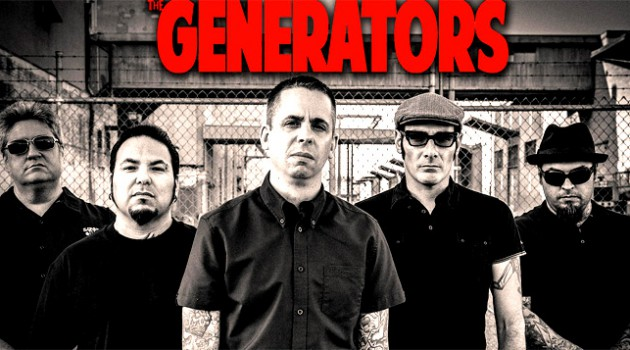 The Generators - Punkband aus Los Angeles - Bandfoto