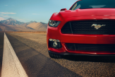 Mustang Convertible 2015 Front Vorserienmodell - Copyright: FORD MOTOR COMPANY (Pressefreigabe)