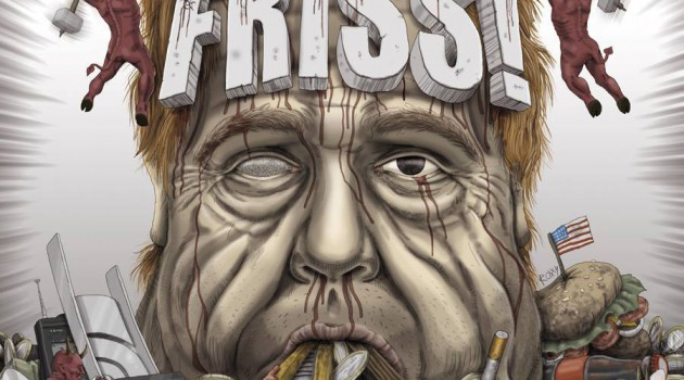 "Toxpack ""Friss"" - Album Cover 2014"