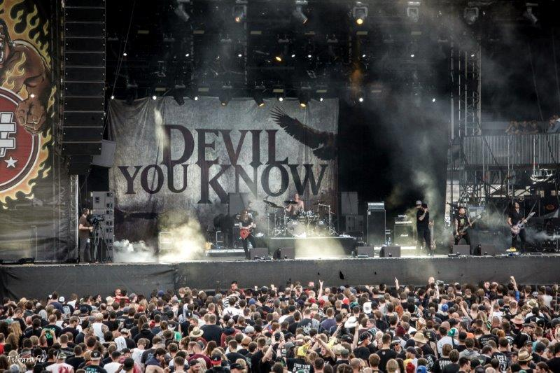 Fotogalerie: Devil You Know auf dem With Full Force 2014