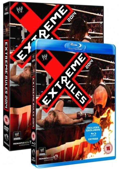 WWE Extreme Rules 2014 DVD Box