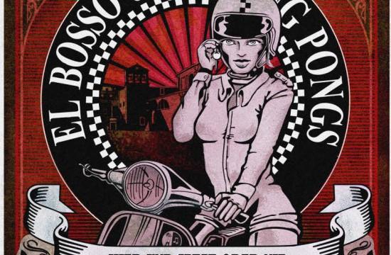 El Bosso & die Ping Pongs - Hier und Jetzt oder Nie - Album Cover (2014)