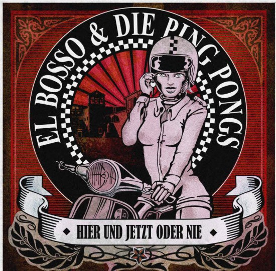 ElBosso&diePingPongs HierundJetztoderNie AlbumCover()