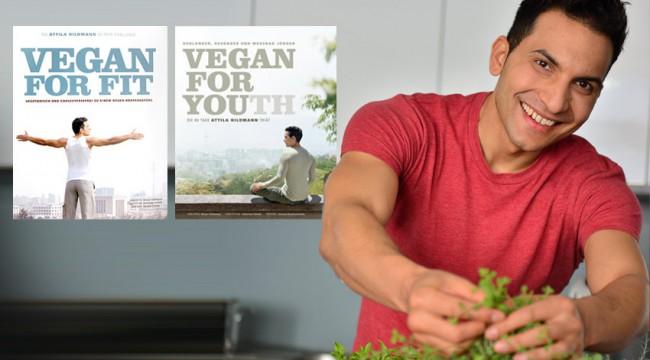 Vegan kochen und gesund abnehmen mit Attila Hildmann - Fotocredits: Justyna Krzyzanowska