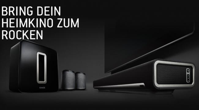Sonos bringt heimkino zum rocken - Quelle: Sonos