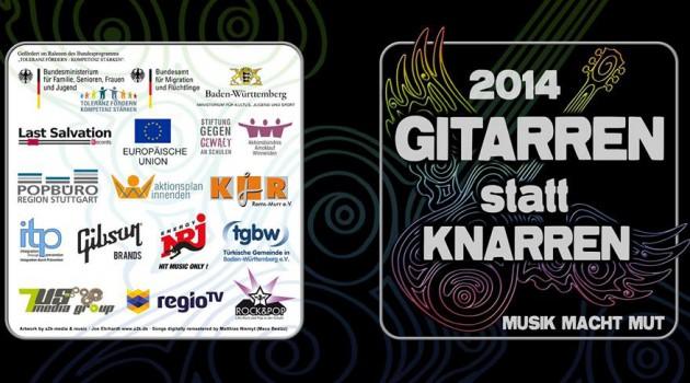 Gitarren statt Knarren - Musik macht Mut - Songcontest 2014