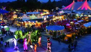Das Tollwood Sommerfestival 2015 findet in München vom 24. Juni bis zum 19. Juli im Olympiapark Süd statt. (Foto: Bernd Wackerbauer)