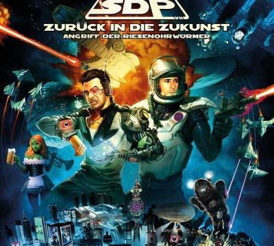 SDP - Zurück in die Zukunst - Album Cover (2015)