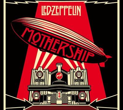 Led Zeppelin Mothership Vinyl Cover 2016