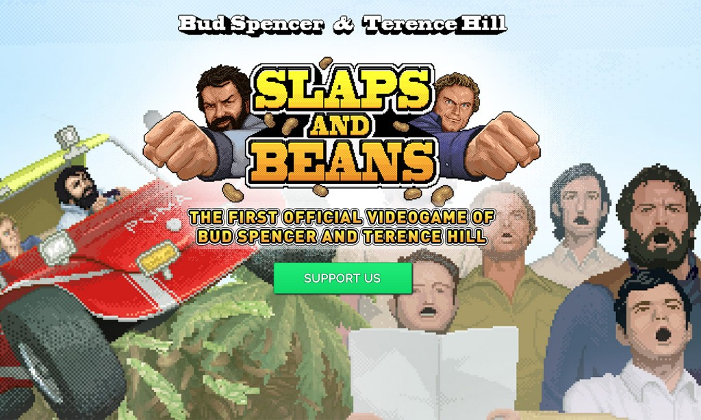 SlapsandBeans:GamemitBudSpencerundTerenceHill Bild:(c)SlapsandBeans