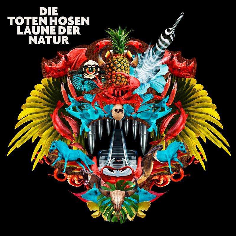 Albumcover:DieTotenHosen LaunederNaturVÖ...