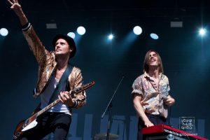 Konzertfoto: Die Band Milliarden live auf dem Pulse Openair 2017