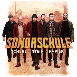 Albumcover Schere, Stein Papier: Sondaschule VÖ: 7.7.2017
