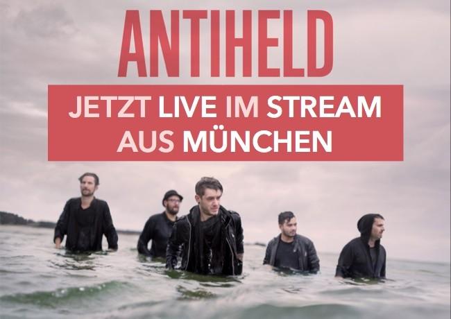 Jetzt live ansehen: ANTIHELD rocken die Wiesn in München