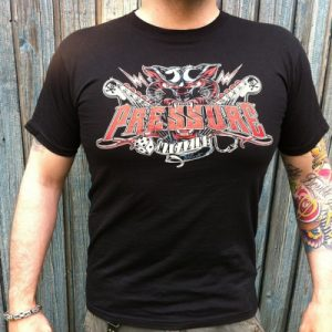 Panther Design by D.Vicente Pressure Magazine Clothing Magazine T-Shirt
