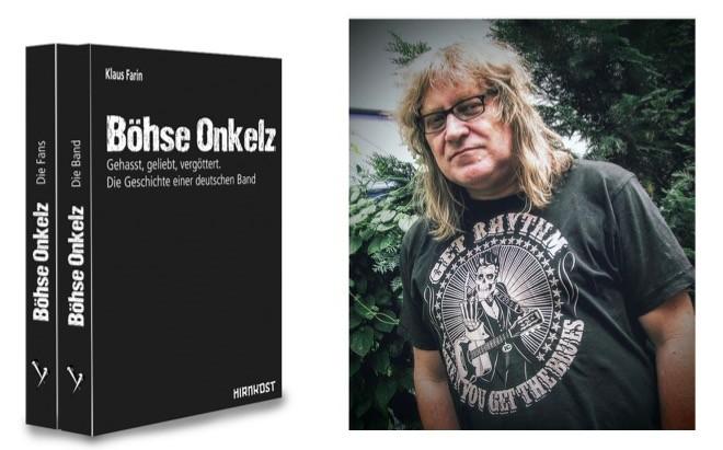 Interview Klaus Farin vom Hirnkost Verlag zu Onkelz-Fans Buch