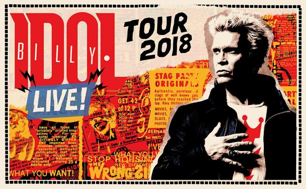 Billy Idol Ticket Konzerte 2018