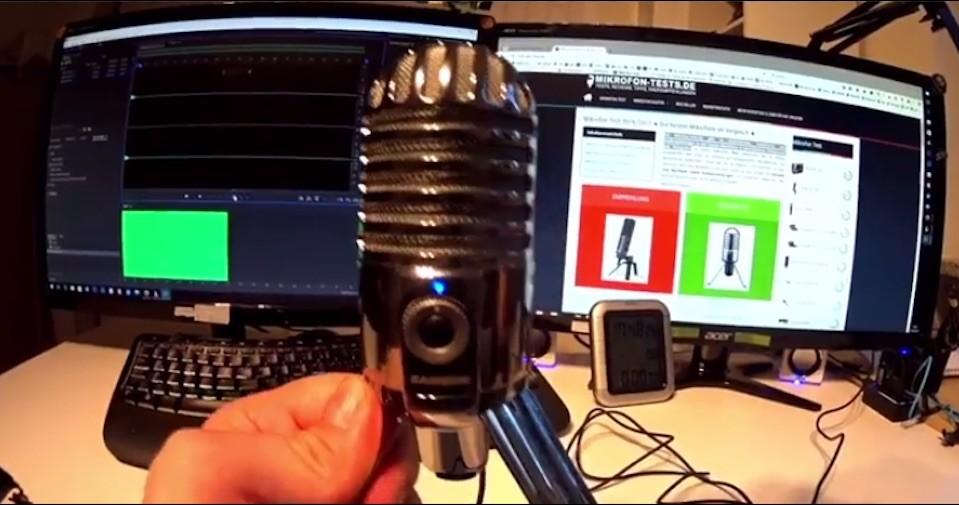 USB-Mikrofon test 2018