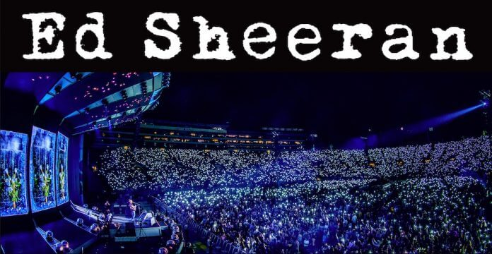Ed Sheeran Live Hockenheimring Bild: Ralph Larman