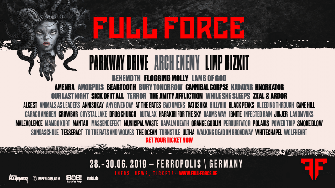 With Full Force 2019 Flyer