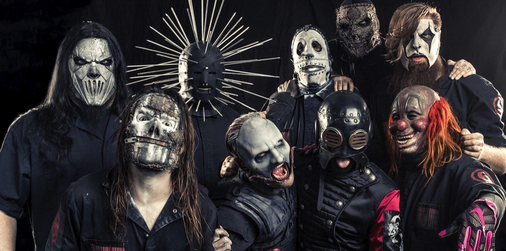 slipknot bandfoto WE ARE NOT YOUR KIND