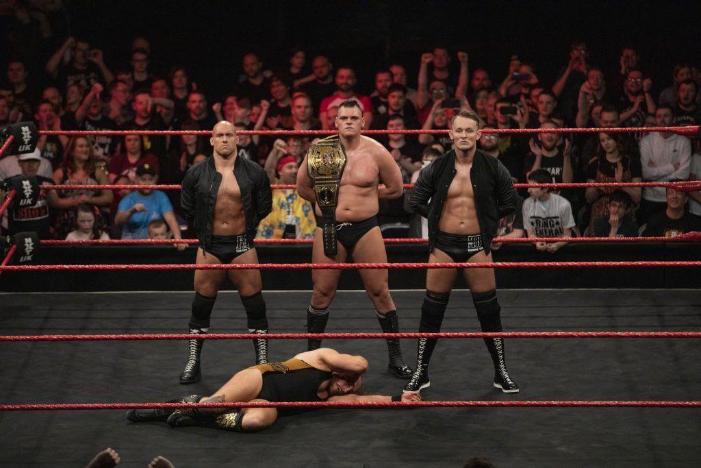 WWE NXT Sportler Marcel Barthel und Fabian Aichner Interview