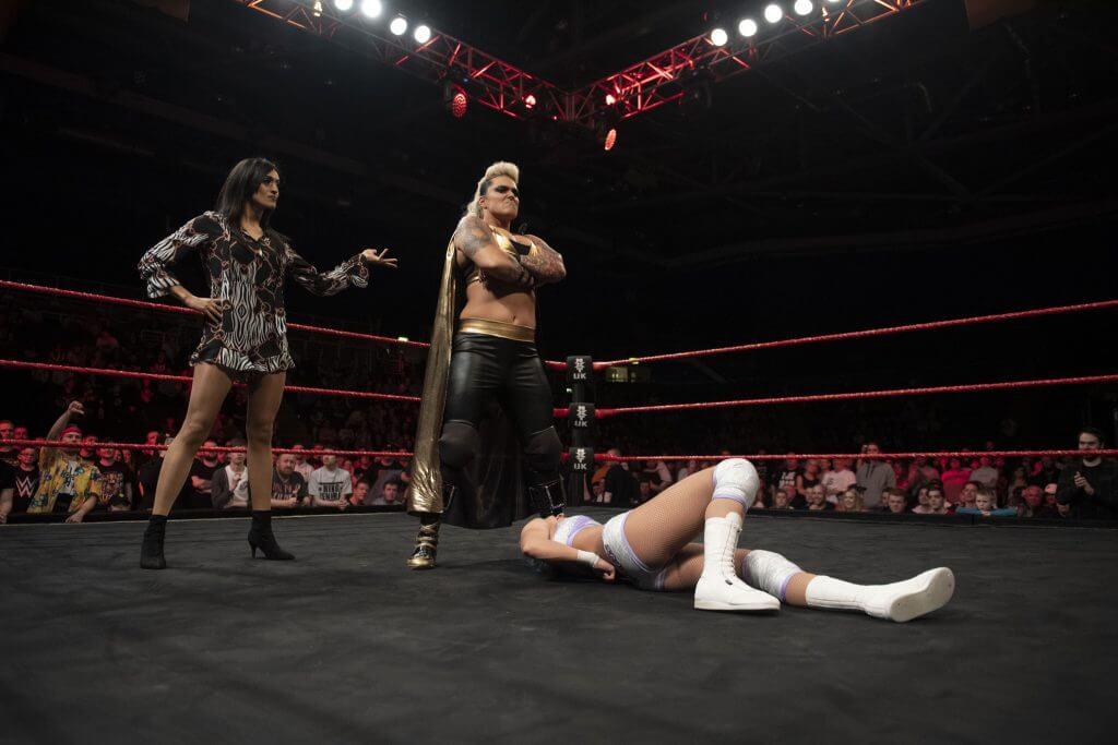 WWE NXT UK Superstars Jinny & Jazzy Gabert im Interview