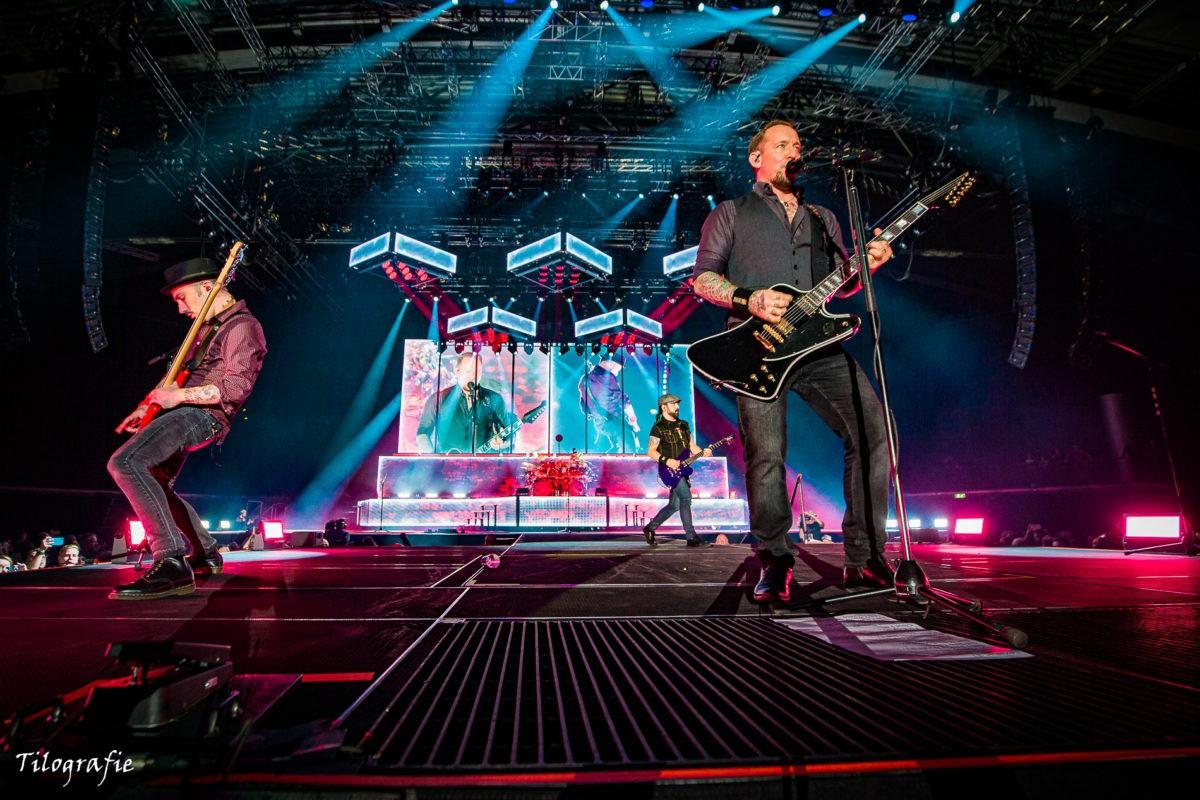 Volbeat mit Michael Poulsen Foto: Tilografie Tilo Klein für Pressure-Magazine.de