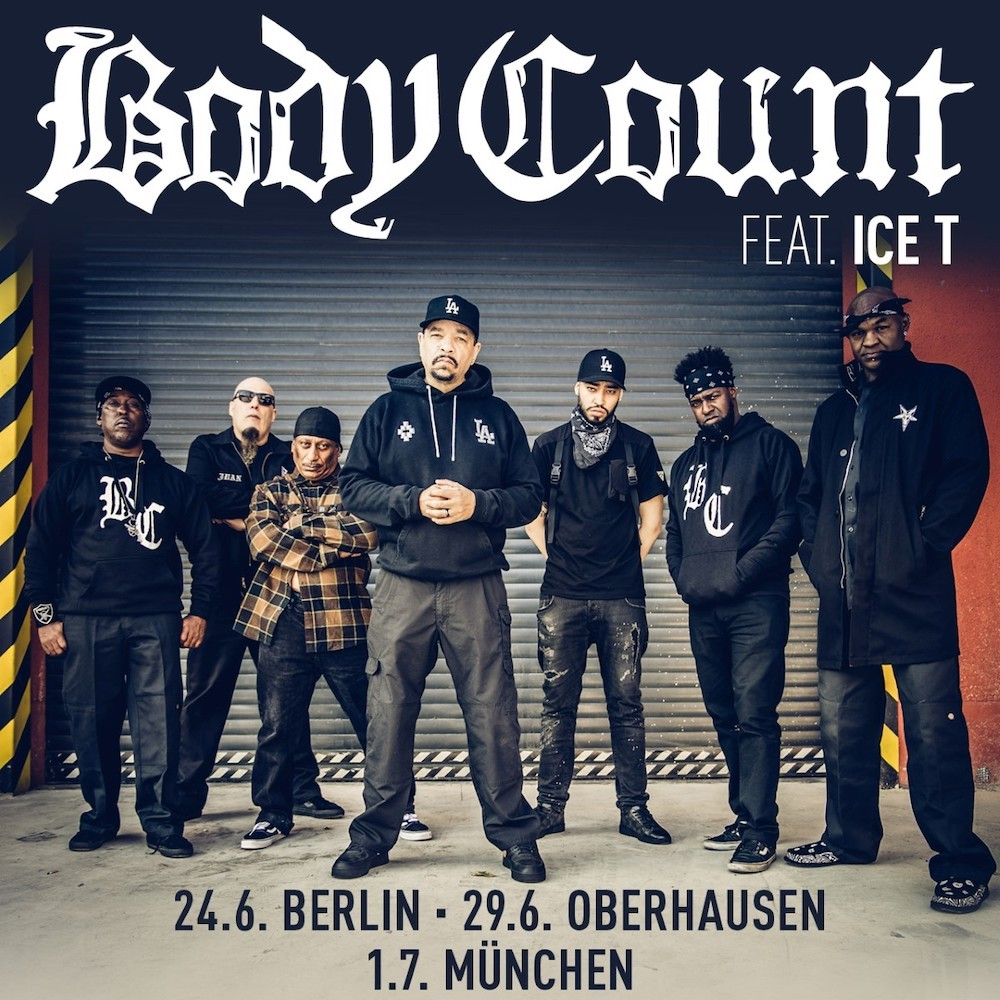 Body Count feat. Ice-T: Live in Deutschland im Sommer 2020