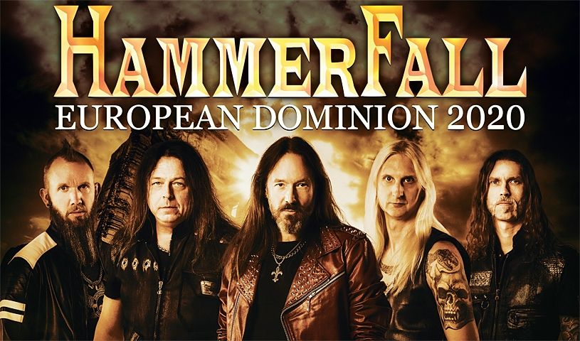 Hammerfall, World Dominion, Tour 2020