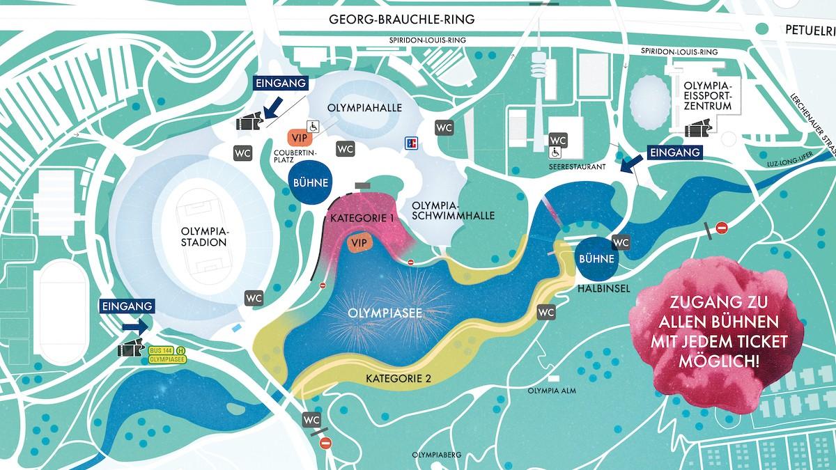 , München: Festival-Feeling beim Sommernachtstraum 2020 – Info, Termin, Tickets