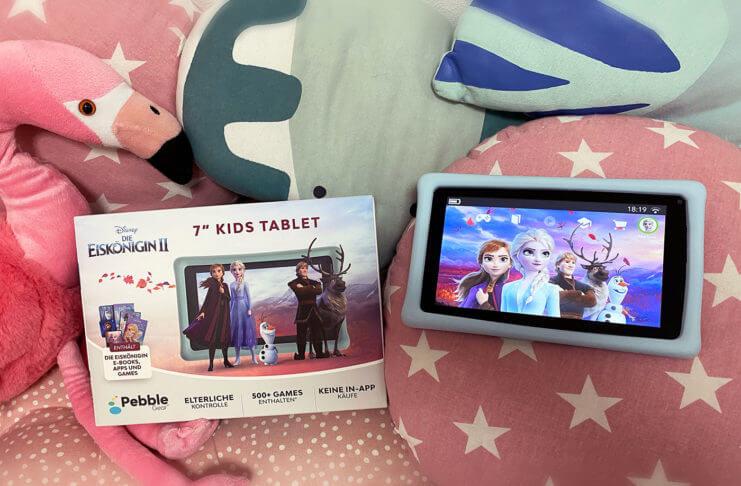 Pebble Gear Kids mit Disney Eiskönigin - Das neue Tablet im Test