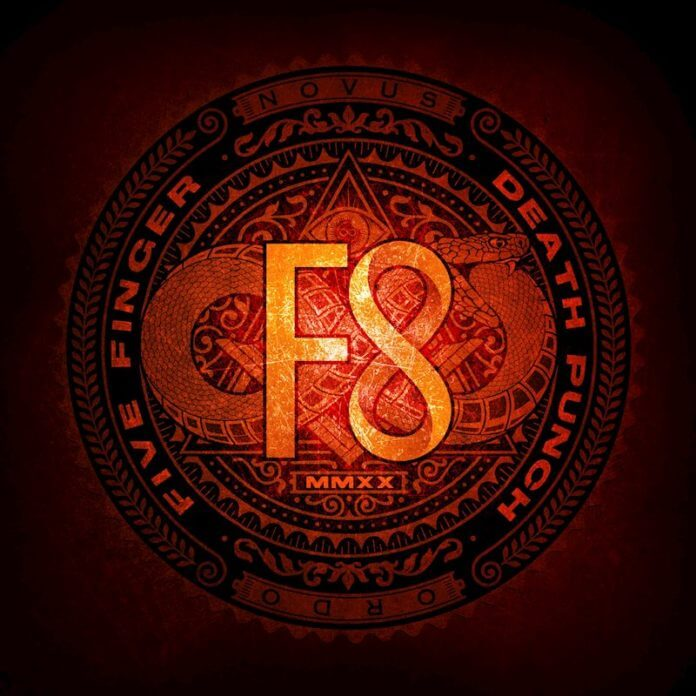 "Five Finger Death Punch""F8"" VÖ: 28.2.2020 (Better Noise Music / Sony)"