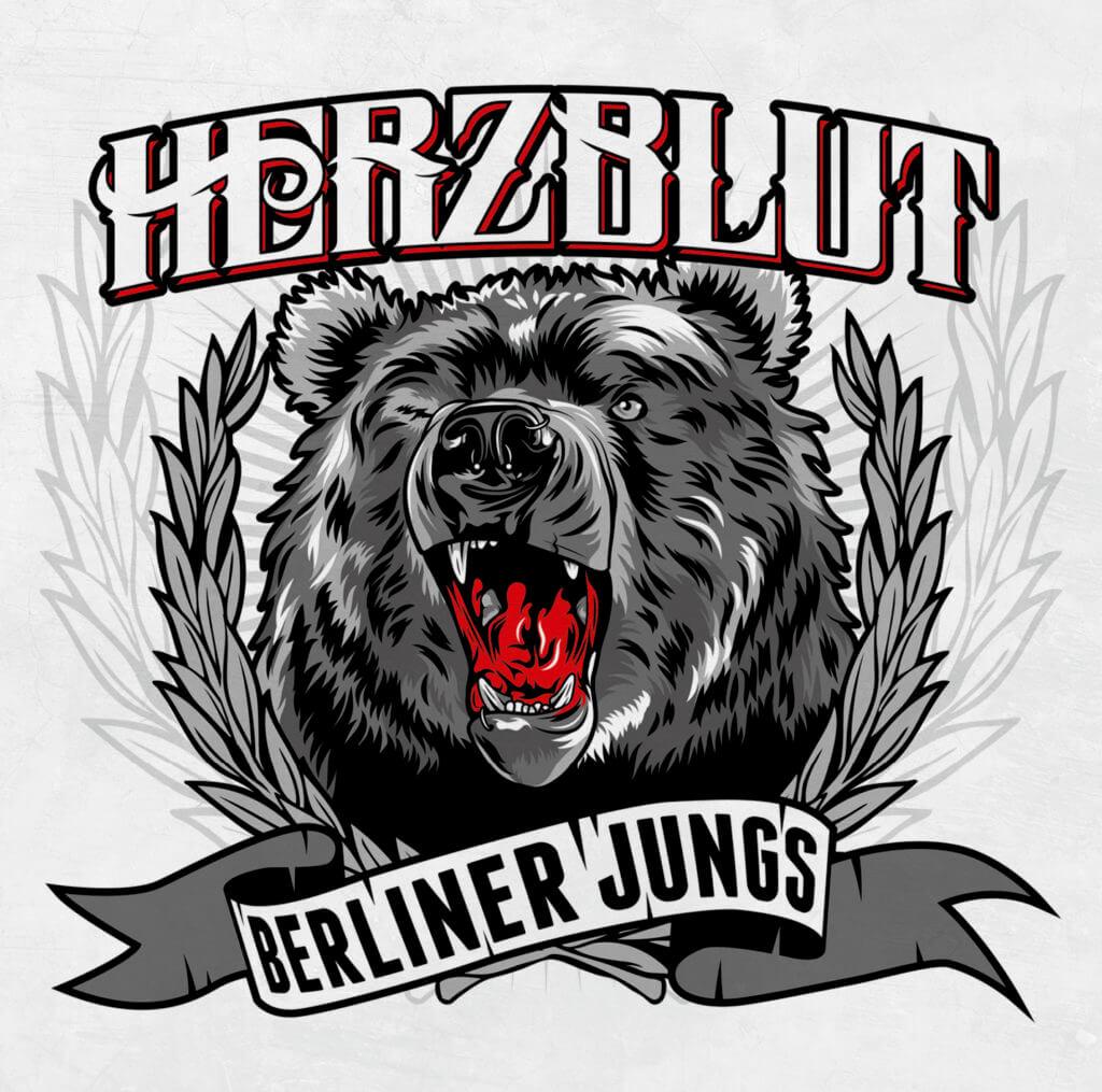 HERZBLUT Berliner Jungs Albumcover