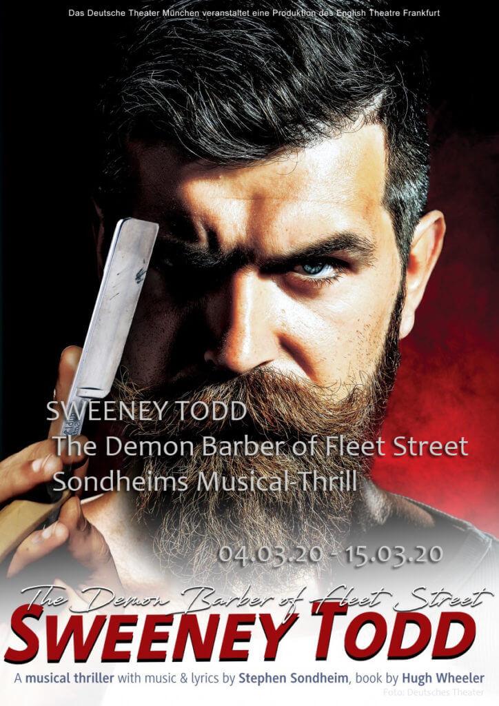 Sweeney Todd – The Demon Barber of Fleet Street im Deutschen Theater - Bericht vom 15.03.2020
