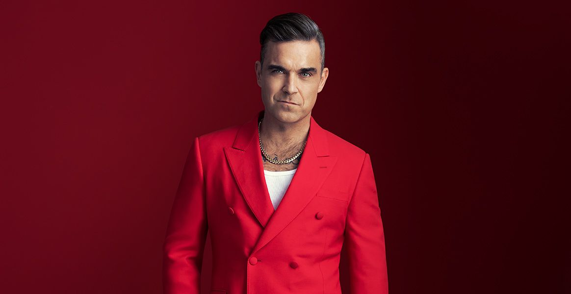 Robbie Williams Konzert Termine & Tickets 2020 Bild: Sony Music