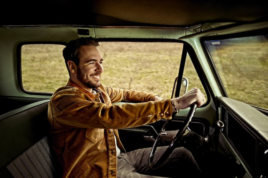 Country Musiker Nik Wallner Pressefoto: Benny Young
