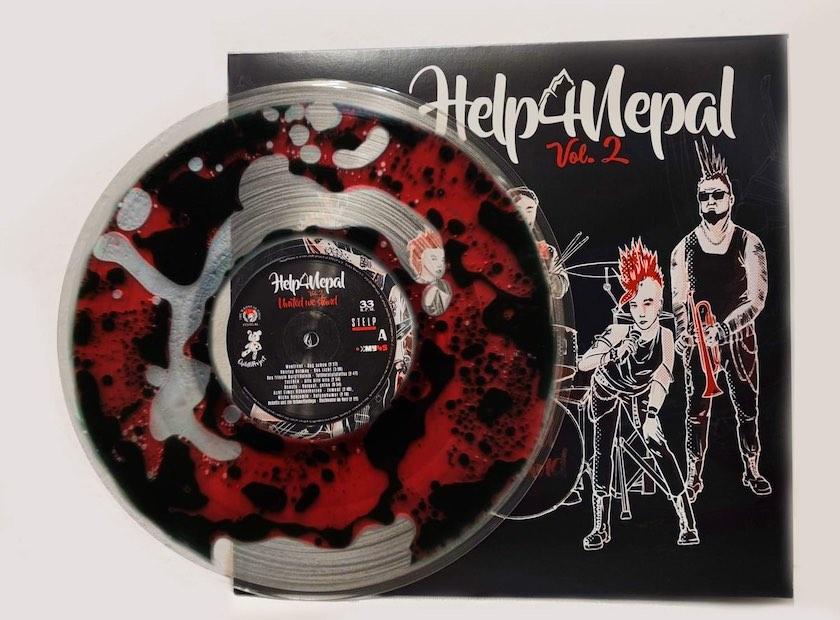 Help4Nepal Vinyl
