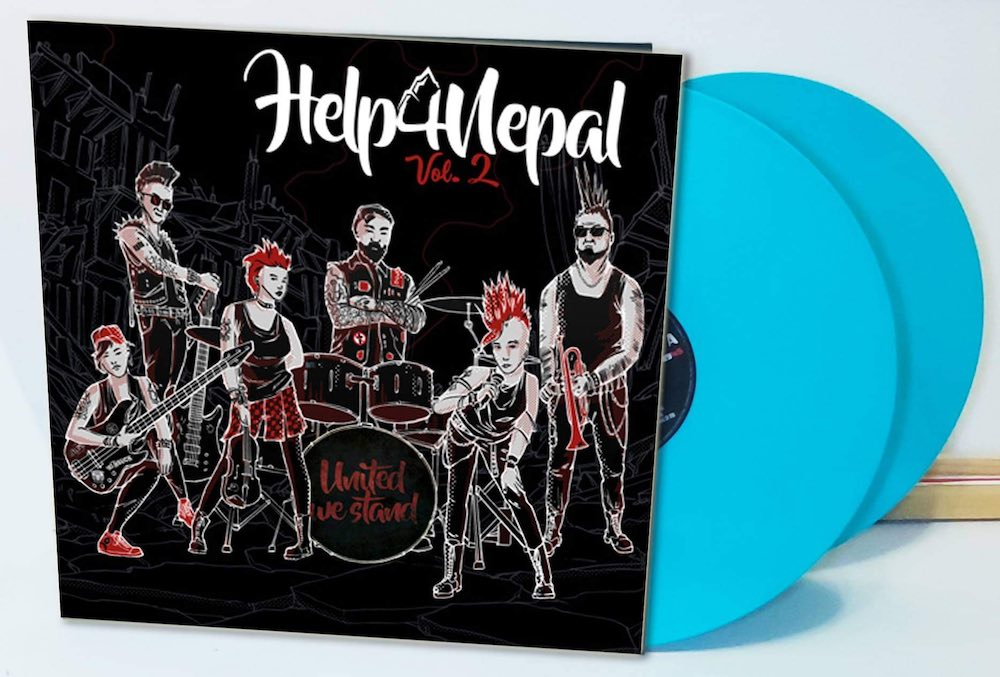 Help4Nepal vinyl Sampler 2021
